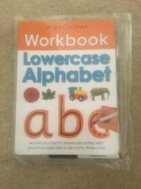 BNWT wipe clean work books