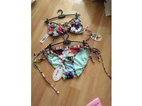 Ted baker floral swirl bikini