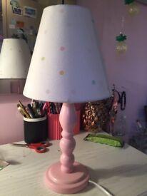 Laura Ashley bedside lamp for girls
