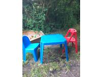 Free kids table and chairs