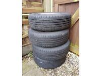 Vauxhall alloy wheels&tyres
