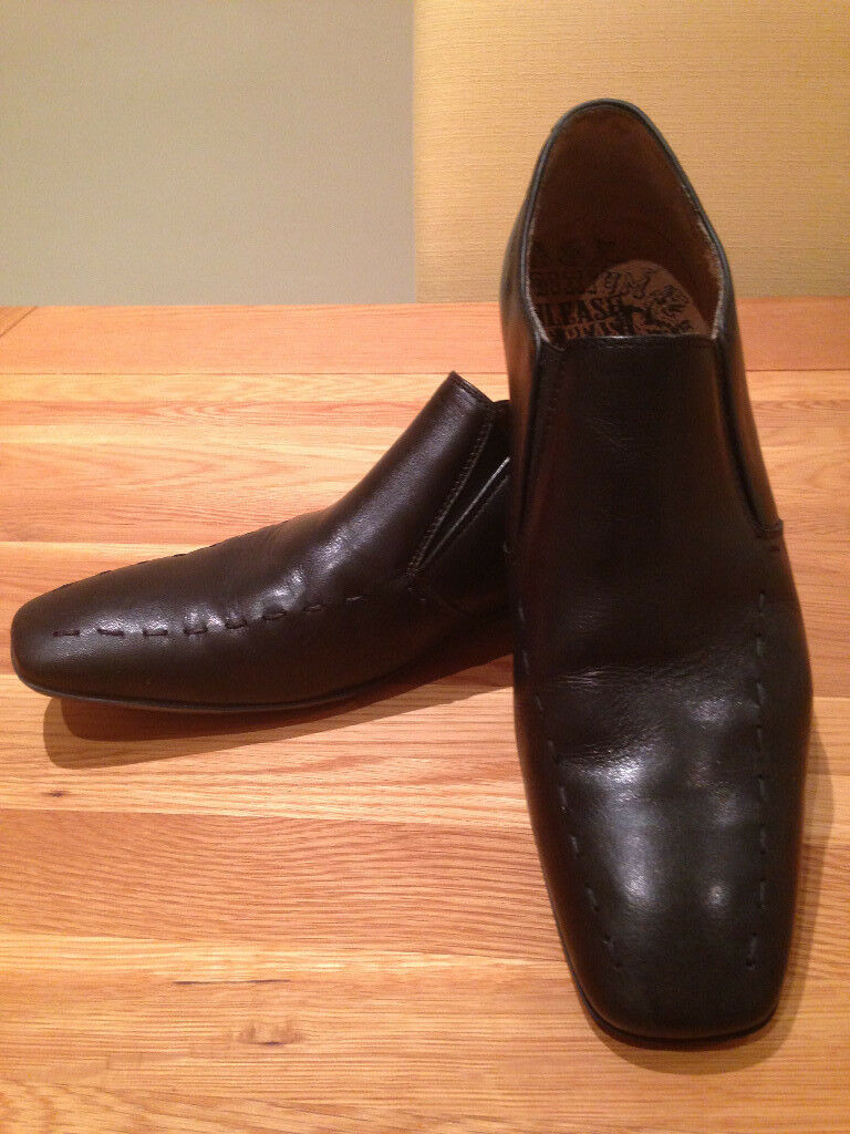 Base Black Men's Smart Loafers (UK10/EU44) (great condition
