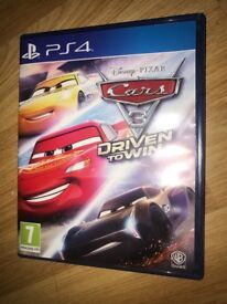 Cars 3 PS4 Game - New