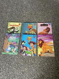 Assorted Disney books