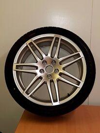 "Audi S line Alloy wheel 19"" 255/35/19 , ET48 , 8.5J"