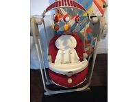 Chicco Polly Swing up-red