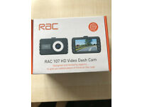 NEW Dash Cam - RAC 107 HD inc. 8Gb SD memory card