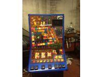 Retro arcade Mancave money box Simpson,s fruitie