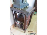 Oak Antique Revolving Bookcase with Barley Twist legss in Good Condition