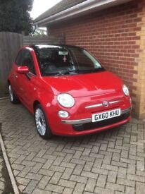 Fiat500 1.4Lounge Dualogic with Sport and eco mode Fully loaded