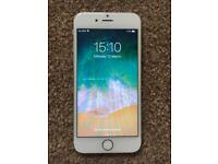 iPhone 6s 64GB, unlocked, silver, mint condition, full working.