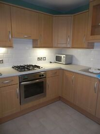 Upgraded UNFURNISHED ground floor 1 bedroom flat in SAUGHTON (pending tenant application)