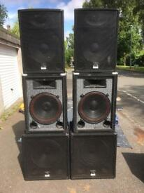 Disco equipment job lot