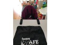 Luxury iSafe table booster (highchair)