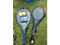 Badminton and Tennis racket