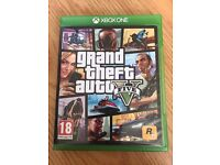 gta5 (grand theft auto 5) , as new , xbox one ! price stands , no offers ! will post !