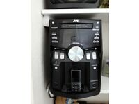 ipod docking stereo JVC 3 speakers (1 bass) £50