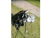 Golfmaster Clubs and bag