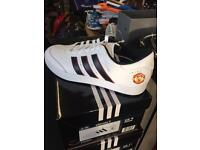 ADIDAS MAN UTD GOLF SHOES. BRAND NEW. SIZES 8-11 AVAILABLE