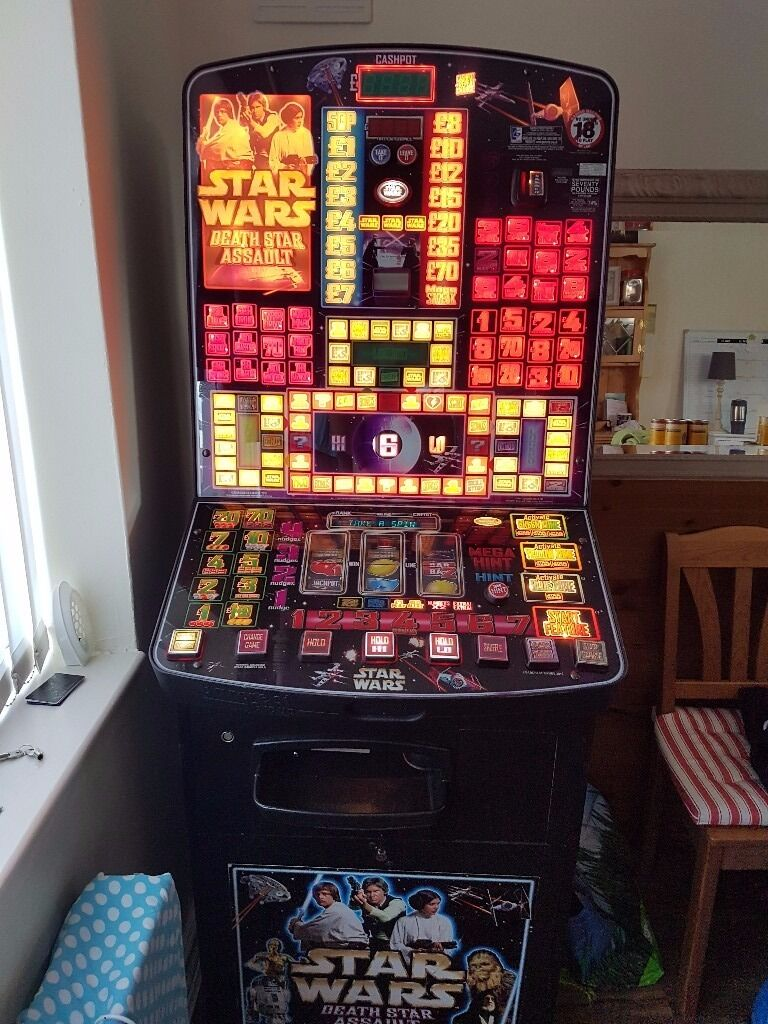 Star Wars Death Star Assault Fruit Machine £70 Jackpot