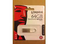 Genuine Kingston 64GB DataTraveler SE9 USB 3.0 Flash Drive Memory Stick DTSE9 G2(Min. Order 5pcs)