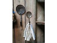 Vintage style reclaimed hooks