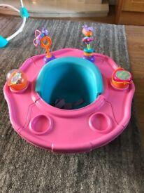 Bumbo style baby seat