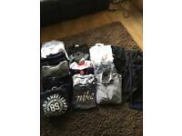 Selection of boys/men's clothing