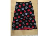 Polka dot Laura Ashley Skirt Size 8