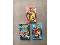 3 Beast Quest books all in excellent condition