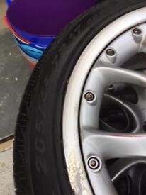 Mini Cooper S alloys