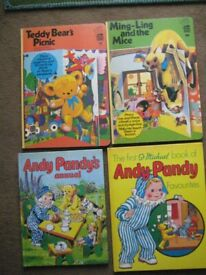 4 Children's Story Books and Activity Books in Colour Hardback for ONLY £3.00