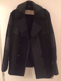 Burberry Men's Wool Double Breasted Pea Coat