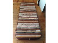 """Small Single Mattress 2'7"""" x 6'3"""" x 7"""" deep PLUS waterproof cover and fitted sheet"""