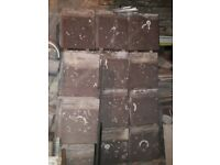 Roof Tiles, Brown Stonewold, Mk 11. Approximately 300