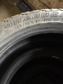 4no. All Terrain Tyres