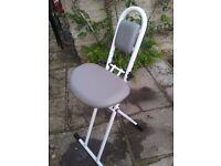 Medical perching stool