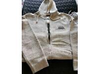 Weird fish zip through hoodie