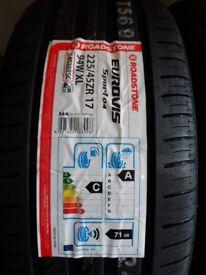 2x tyres ROADSTONE EUROVIS SPORT04 XL 225 45 17