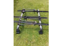 Renault Scenic 2009/2015 roof rails comes with 3 bike rails