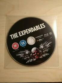 Sleeveless Expendables Blu-ray