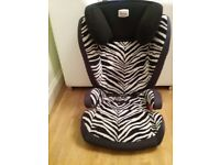 Britax Romer Isofix car seat group 2/3 15kg-36kg (4-12years)