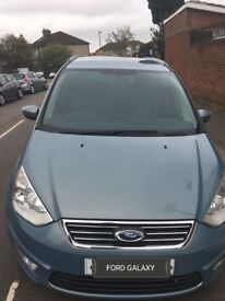 Ford galaxy 2 ltr 2010 automatic sky blue