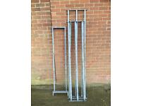 Galvanised bars good for small fencing etc