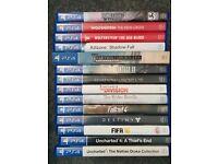 PS4 games x15