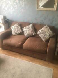 Three and a two seater settee