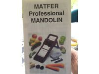 NEW. Matfer Professional Vegetable and fruit slicer.