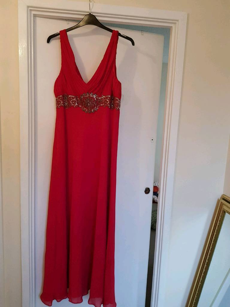 Red womans Gown