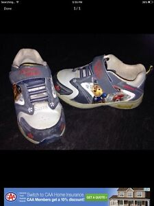 Toddler size 8 paw patrol shoes