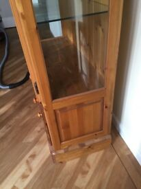 Ducal Dresser/Display Cabinet with lights and draws